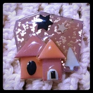 Jewelry - Golden Snow Lucinda House Pins